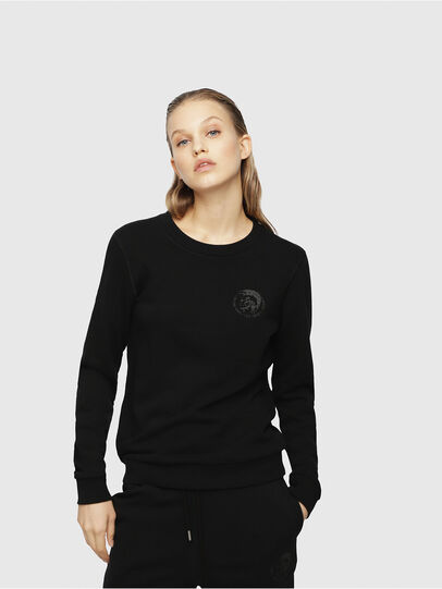 Diesel - UFLT-WILLA, Black - Sweaters - Image 1