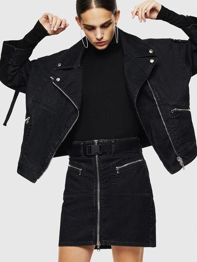 Diesel - OSILKA, Black - Skirts - Image 4