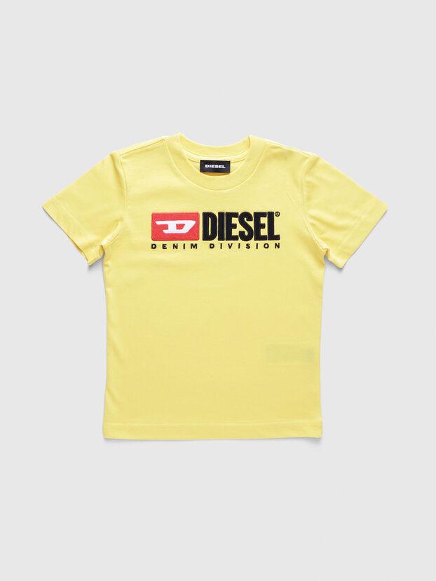 TJUSTDIVISIONB-R, Yellow - T-shirts and Tops