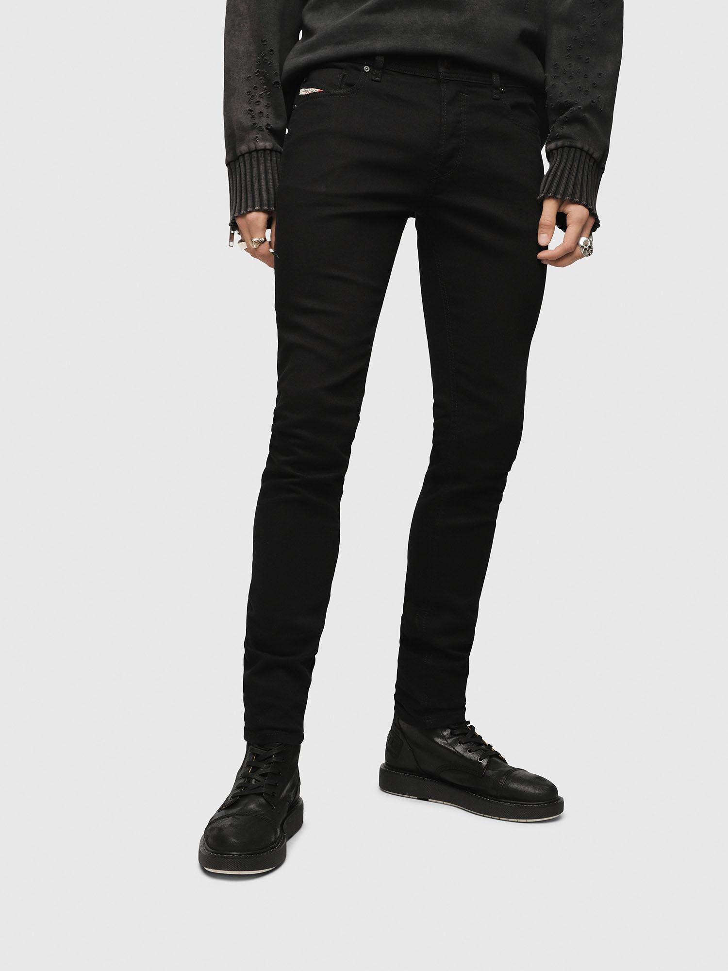 Jeans Sleenker 886Z Skinny Fit Black - Black Diesel l9pLin5