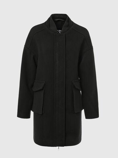 Diesel - W-LETHEA, Black - Winter Jackets - Image 4