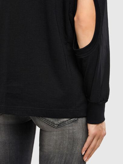Diesel - T-SBU, Black - T-Shirts - Image 4