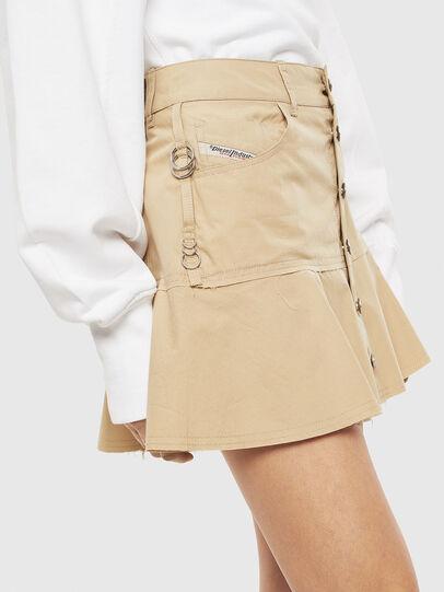 Diesel - O-BETH, Beige - Skirts - Image 4