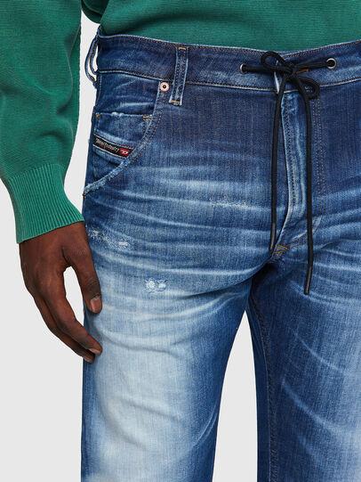 Diesel - Krooley JoggJeans® 09B52, Medium blue - Jeans - Image 4