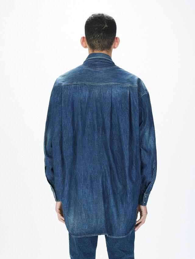Diesel - SOTS01, Blue Jeans - Shirts - Image 5