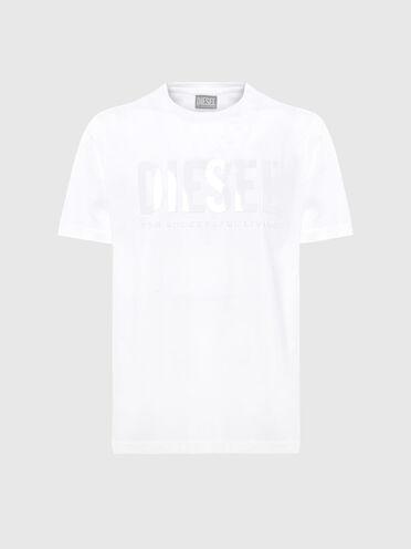 Green Label T-shirt with tonal print
