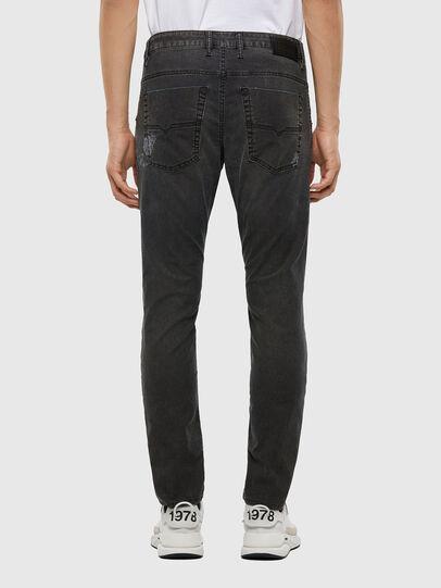 Diesel - Krooley JoggJeans 009LB, Black/Dark grey - Jeans - Image 2