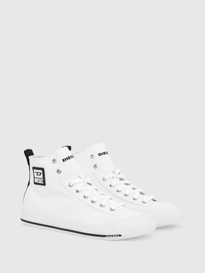Diesel - S-ASTICO MID CUT, White - Sneakers - Image 2
