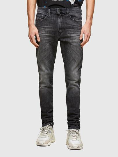 Diesel - D-REEFT JoggJeans® 009SU, Black/Dark grey - Jeans - Image 1