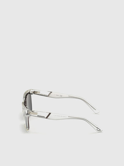 Diesel - DL0250, White - Sunglasses - Image 3