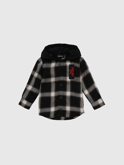 Diesel - CIBONB, Black - Shirts - Image 1