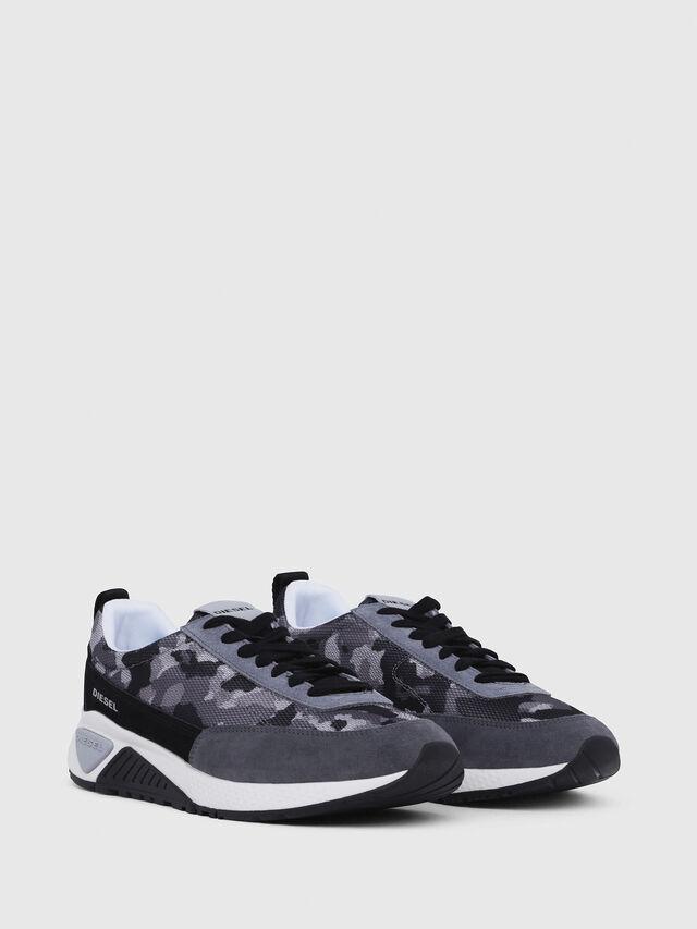 Diesel - S-KB LOW LACE, Gray/Black - Sneakers - Image 2