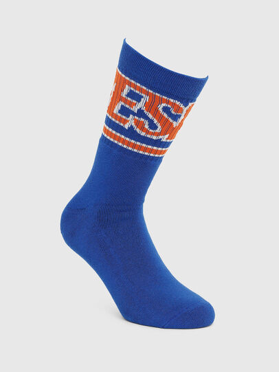 Diesel - SKM-RAY, Brilliant Blue - Socks - Image 1