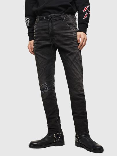 Diesel - CL-Krooley-T-CB JoggJeans 069PK, Black - Jeans - Image 1