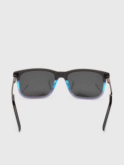 Diesel - DL0309, Black/Blue - Sunglasses - Image 4