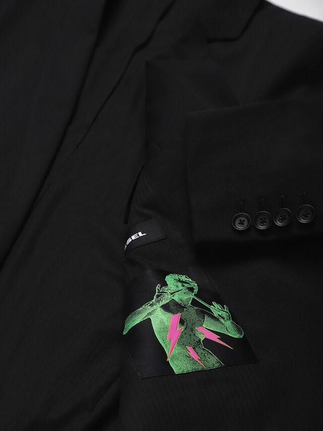 Diesel - J-NOIZE, Black - Jackets - Image 5