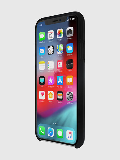 Diesel - DIESEL PRINTED CO-MOLD CASE FOR IPHONE XS & IPHONE X, Black - Cases - Image 3