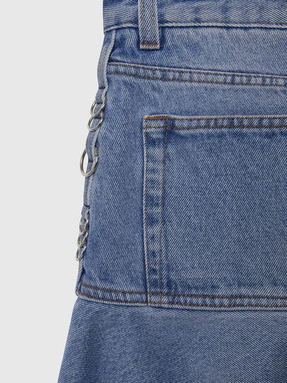 Diesel - DE-BETHY, Light Blue - Skirts - Image 5