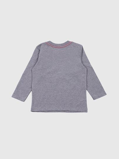 Diesel - TOQUEB-R, Grey - T-shirts and Tops - Image 2