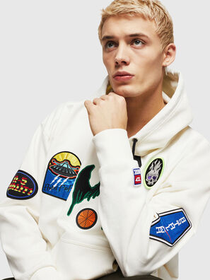 S-ALBY-PATCHES, White - Sweaters