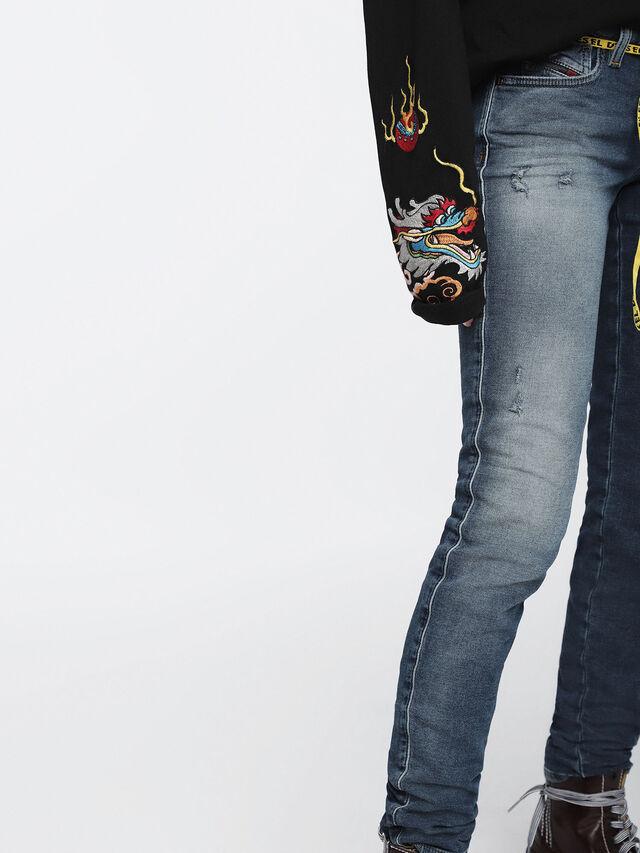 Diesel - Gracey JoggJeans 084TZ, Medium blue - Jeans - Image 6