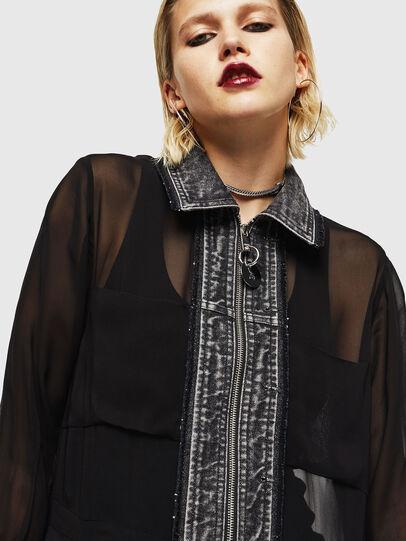 Diesel - D-RAHAN-A, Black - Dresses - Image 3