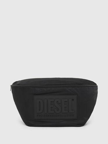 Large belt bag in padded nylon