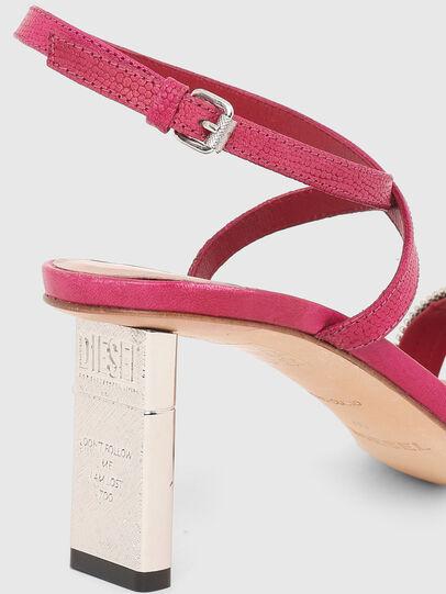 Diesel - SA-LEZIPPO PL, Pink - Sandals - Image 5
