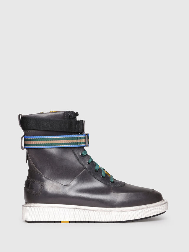 Diesel - H-CAGE HIGH ST, Opaque Black - Boots - Image 1