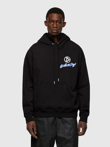 Graphic printed hoodie