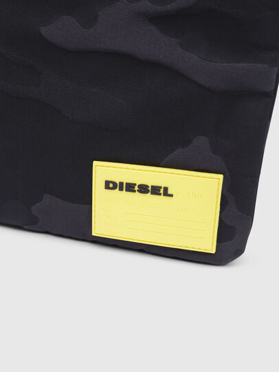 Diesel - F-DISCOVER CROSS, Black/Yellow - Crossbody Bags - Image 4
