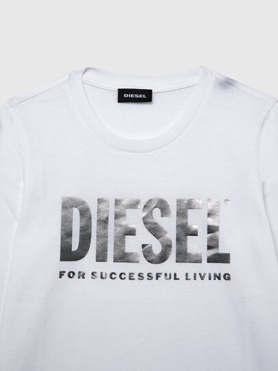 Diesel - TSILYWX ML, White - T-shirts and Tops - Image 3