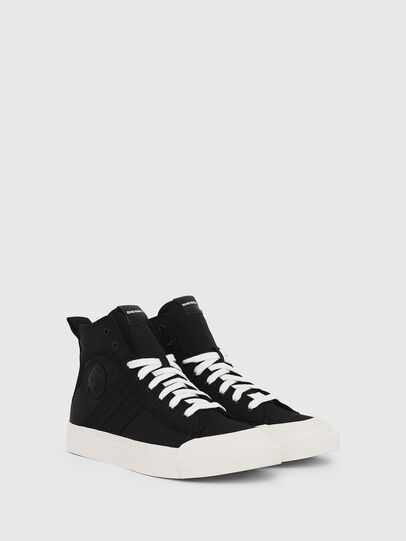 Diesel - S-ASTICO MID LACE, Black - Sneakers - Image 2