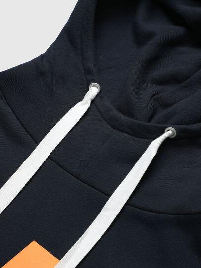 Diesel - PR-SW01, Dark Blue - Sweaters - Image 5