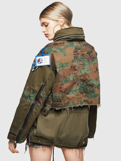Diesel - G-LEE-C, Military Green - Jackets - Image 2