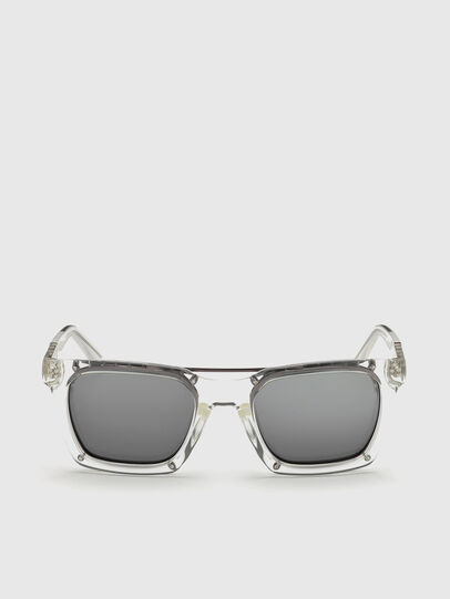 Diesel - DL0250, White - Sunglasses - Image 1