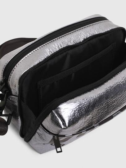 Diesel - FARAH II, Silver - Crossbody Bags - Image 5