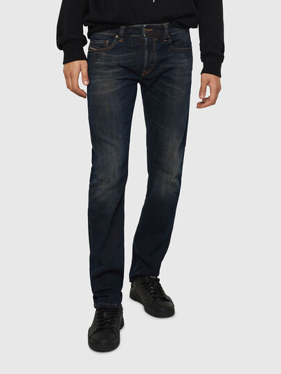 Diesel - Safado 0890Z, Dark Blue - Jeans - Image 1