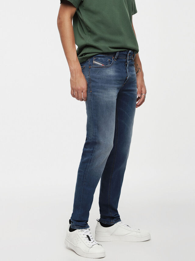 Diesel - Sleenker 084YK, Medium blue - Jeans - Image 1