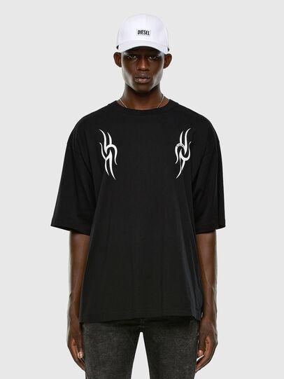 Diesel - T-BALL-X3, Black - T-Shirts - Image 5