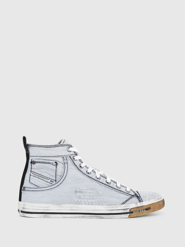Diesel - EXPOSURE I, Light Blue - Sneakers - Image 1