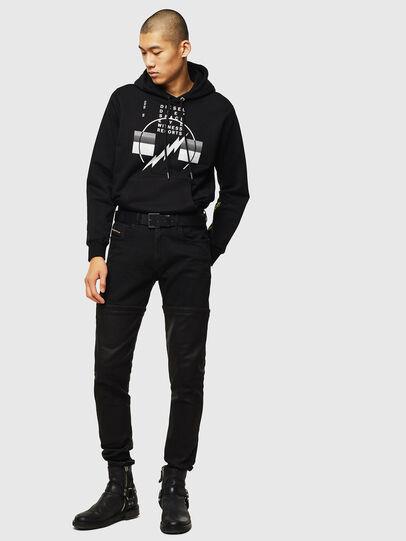 Diesel - S-GIRK-HOOD-J5, Black - Sweaters - Image 5