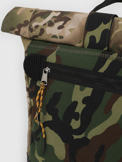 Diesel - ROLAP, Green Camouflage - Backpacks - Image 5