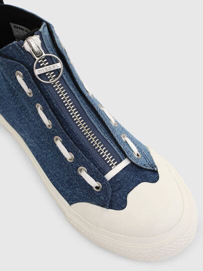 Diesel - S-ASTICO MZIP W, Blue - Sneakers - Image 4