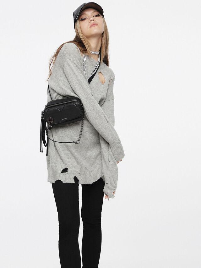 Diesel - M-PURE, Light Grey - Knitwear - Image 4