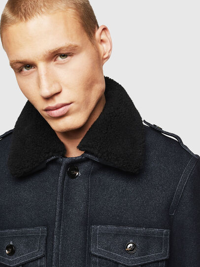Diesel - W-TIMOTEV, Black - Winter Jackets - Image 5