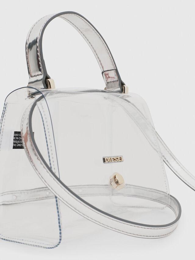 Diesel - CRYSTAL BAG, White - Bags - Image 4