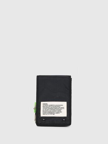Green Label two-tone cross-body