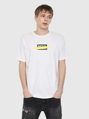 66de38bbbf79 Diesel Men's T-shirts: Colour, Cotton, Graphic | Diesel®