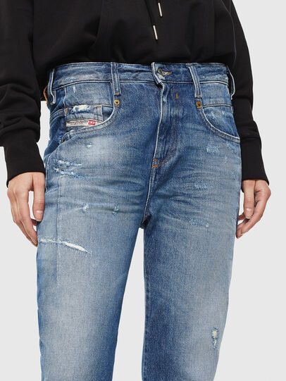 Diesel - Fayza 0097B, Medium blue - Jeans - Image 3